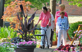 Assisted Living care begins at The Normandy