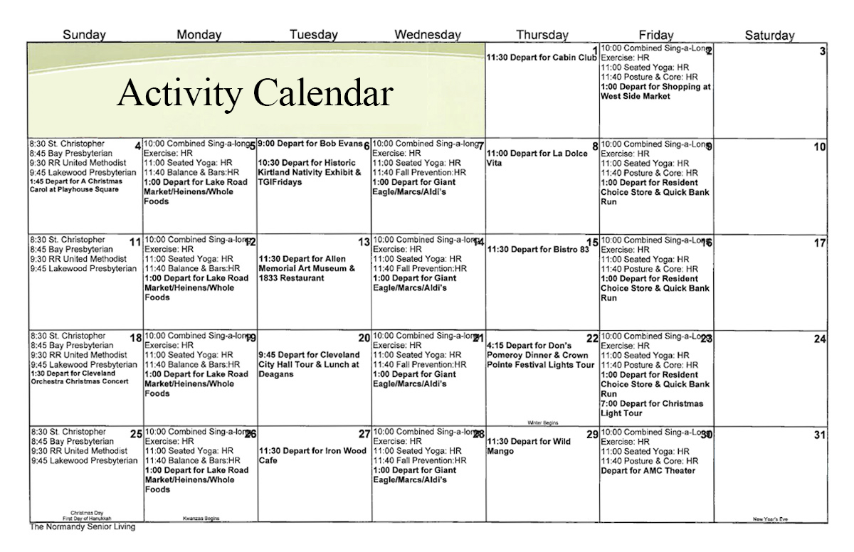 calendar-independent-activities